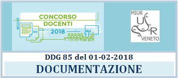 DDG n. 85/2018 concorso docenti