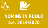 Nomine in ruolo a.s. 2019/2020